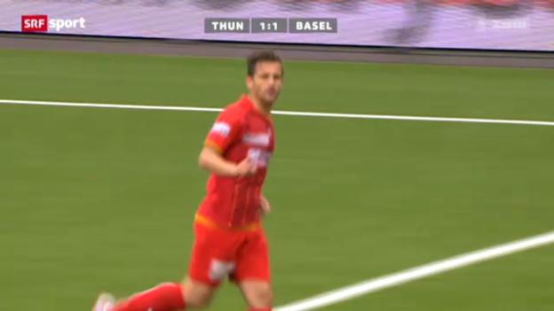Video «Demiris Tor gegen Basel» abspielen