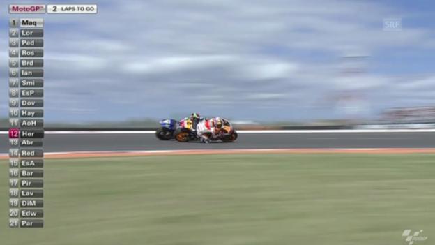 Video «Motorrad: GP Argentinien, MotoGP-Rennen» abspielen