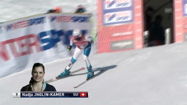 Video «Ski alpin: Die Fahrt von Jnglin-Kamer («sportlive»)» abspielen