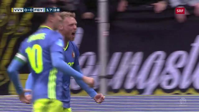 Feyenoord Schlagt Venlo Locker