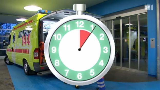Video «Schlaganfall: Zeit ist Hirn» abspielen