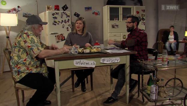 Video «Peach Weber bei Virus TV» abspielen