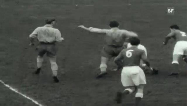 Cupfinal 1955: Chaux-de-Fonds - Thun