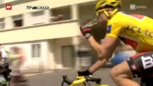 Video «Rad: Schlussetappe, Zusammenfassung («sportpanorama»)» abspielen
