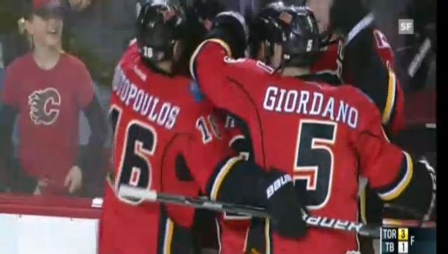 Bärtschis 3. NHL-Treffer