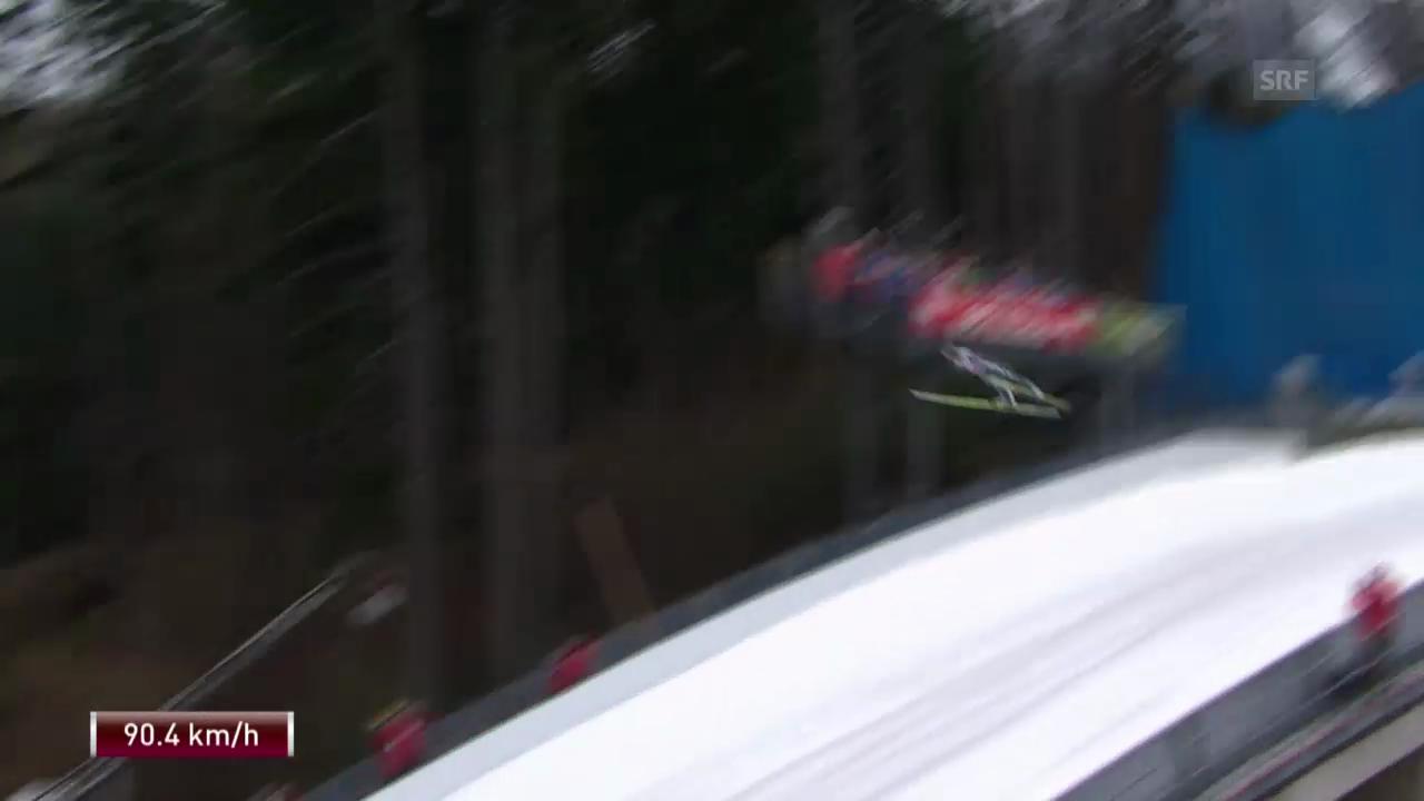Skispringen: Vierschanzentournee in Innsbruck («sportlive», 4.1.2014)