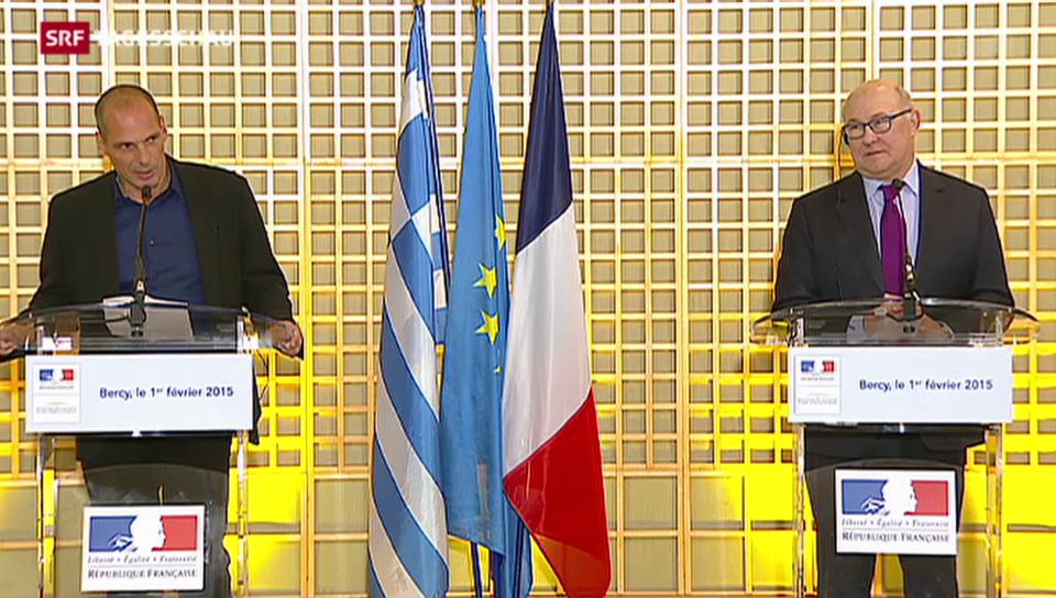 Griechenlands neuer Finanzminister wirbt um Vertrauen