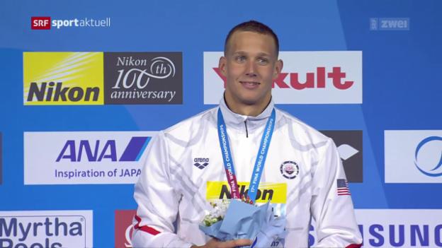 Video «Neuer US-Sprintstar Caeleb Dressel» abspielen