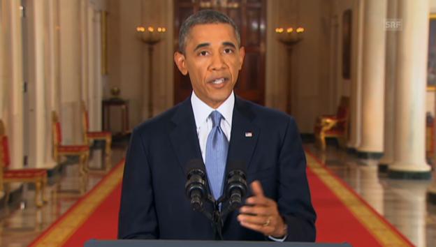 Video «Obama zu Syrien (Engl.): Beweisführung für den Chemiewaffeneinsatz» abspielen
