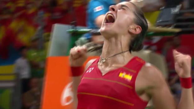 Video «Marin schreit sich zum Sieg» abspielen