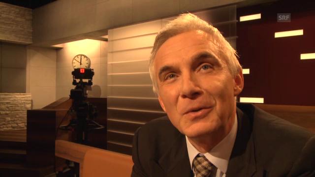 Urs Rohner, Verwaltungsratspräsident der Credit Suisse