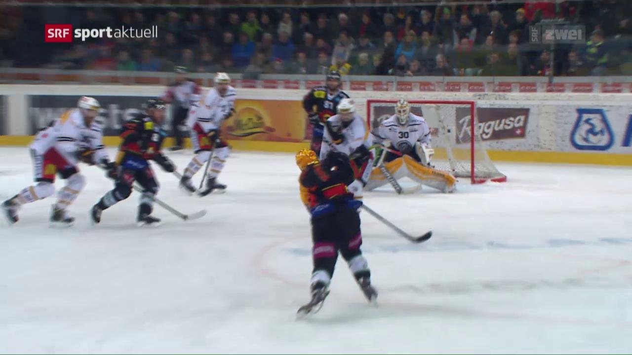 Bern schlägt Lugano in der Overtime