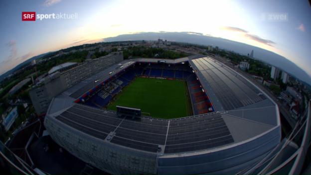 Video «Vor dem EL-Final in Basel» abspielen