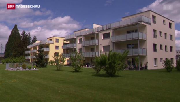 Video «Platz bald die Immobilienblase?» abspielen