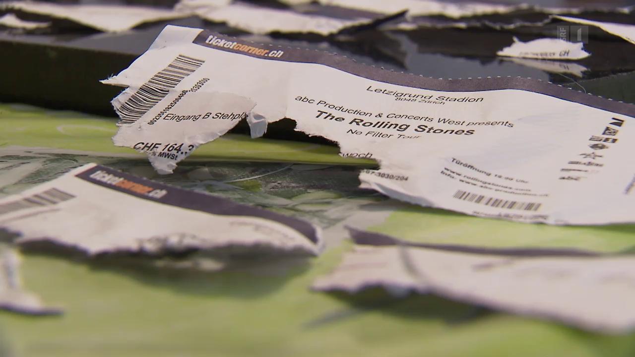 Hund zerfetzt Konzert-Tickets – 1400 Franken für die Katz?