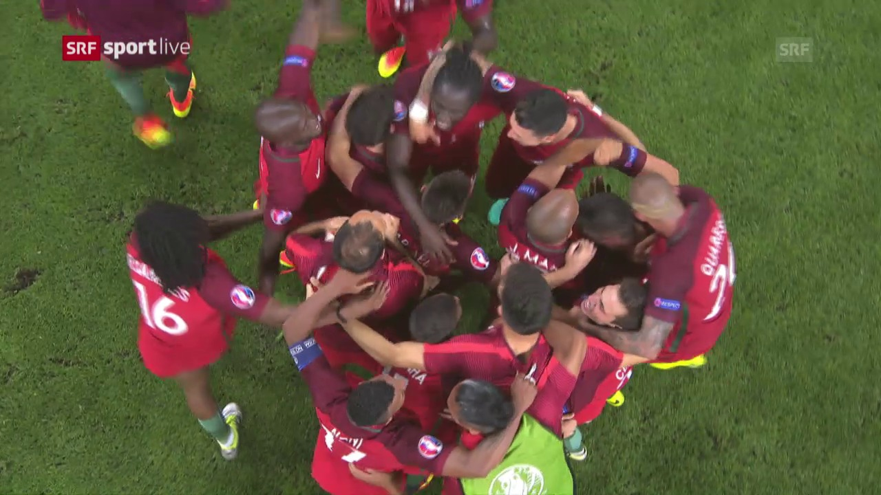 Frankreich - Portugal: Die Live-Highlights