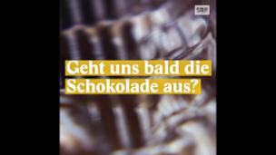 Video «Droht der Schoggi-Notstand?» abspielen