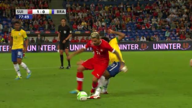 Video «Fussball: Stilstudie Valon Behrami («sportlive»)» abspielen