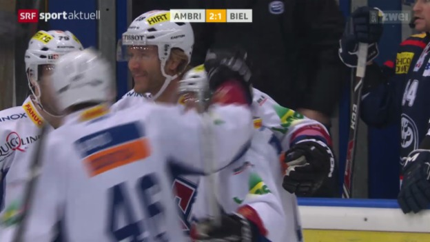 Video «Eishockey: Ambri - Biel» abspielen