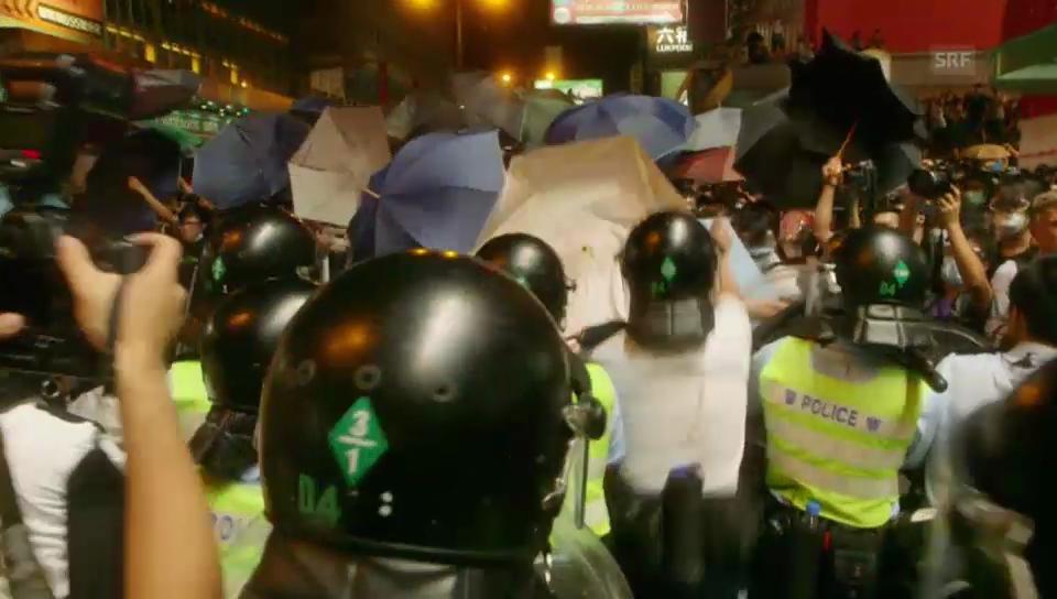 So ist die Gewalt in Hongkong eskaliert (unkommentiert)