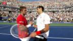 Video «Wawrinka scheitert an Djokovic in 5 Sätzen» abspielen