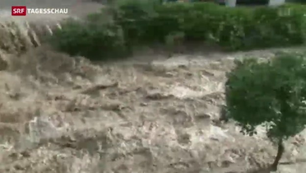 Video «Unwetter in Sardinien» abspielen