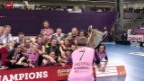 Video «Unihockey: Champions Cup in Zürich, Finals» abspielen