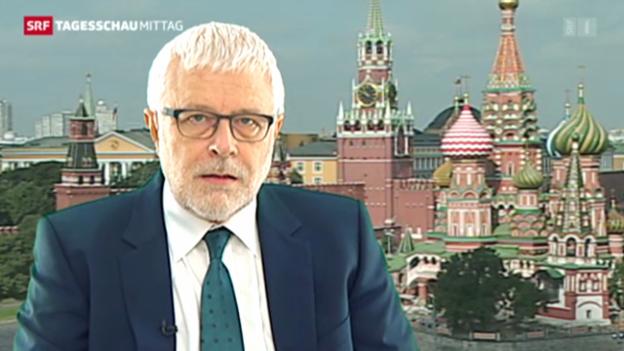 Video «Einschätzungen von Peter Gysling, SRF-Korrespondent Moskau» abspielen