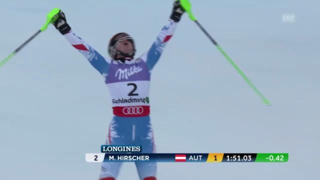 Der WM-Slalom der Männer («sportpanorama»)
