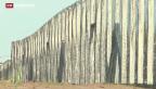 Video «Zweiter Grenzzaun in Ungarn» abspielen