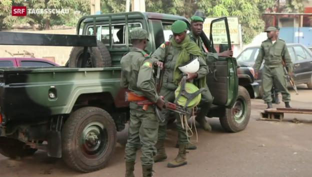 Video «Schweizer bei Anschlag in Mali verletzt» abspielen