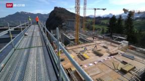 Video «600 Millionen-Bau auf dem Bürgenstock» abspielen