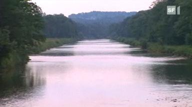 Die Thur im freien Fluss