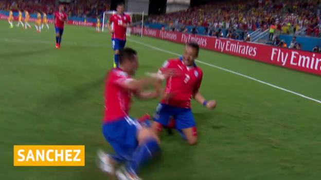 Video «Alexis Sanchez zu Arsenal» abspielen