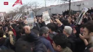 Video «Erdogan untergräbt Pressefreiheit» abspielen