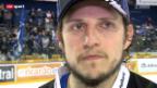 Video «Eishockey: Stimmen zu Zug - Bern» abspielen