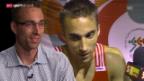 Video «Leichtathletik: Frühere Stars über 400 Meter Hürden» abspielen