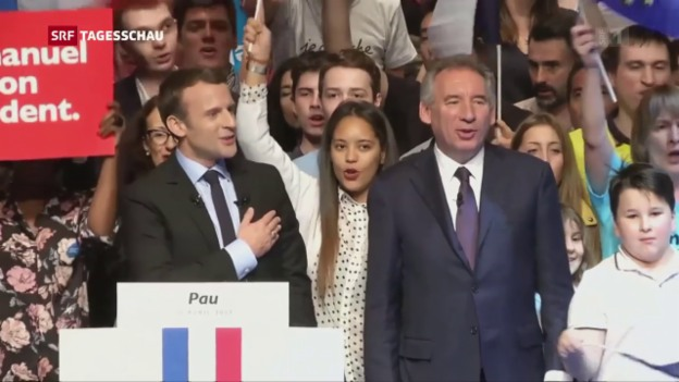 Video «Weggefährten Macrons in seinem Kabinett» abspielen