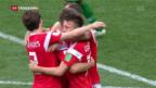 Video «Gastgeber Russland gewinnt erstes WM-Spiel» abspielen