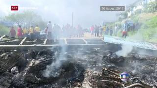 Video «Nachbarländer mit Flüchtlingen aus Venezuela überfordert» abspielen