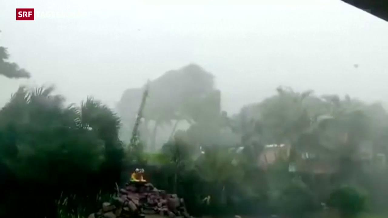 «Patricia» von intensivem Regen begleitet