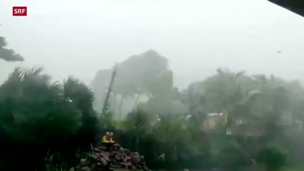 Video ««Patricia» von intensivem Regen begleitet» abspielen