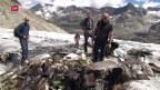 Video «Räumungsaktion auf dem Gauligletscher geplant» abspielen