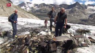 Video «Räumungsaktion auf dem Gauligletscher geplant » abspielen
