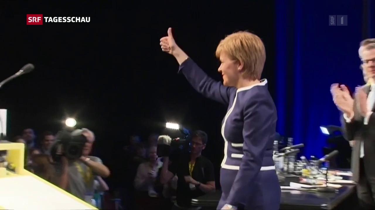Schottland will erneut die Unabhängigkeit