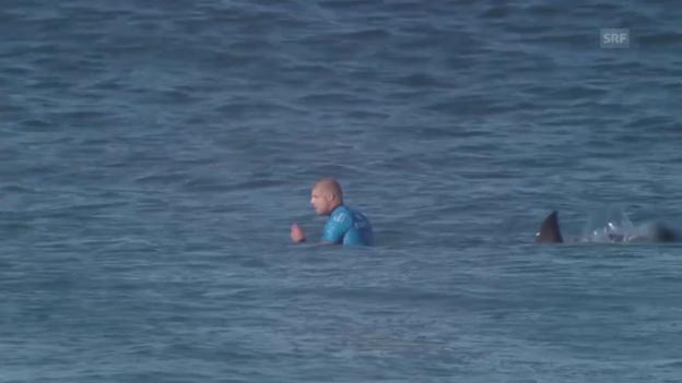 Video «Surfen: Weltmeister Mick Fanning wird von Hai angegriffen» abspielen