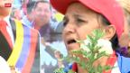 Video «Chávez' Tod mobilisiert die Massen» abspielen