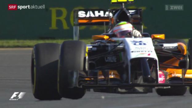 Video «Formel 1: Freie Trainings in Melbourne» abspielen