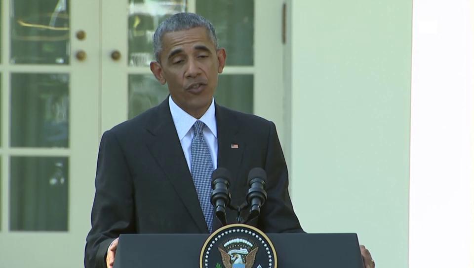 US-Präsident Obama kontert Vorwürfe (unkomm.)