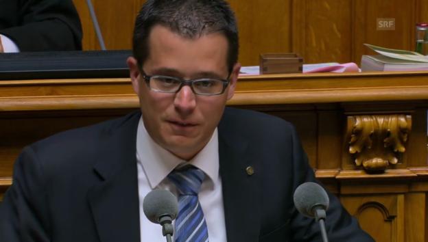 Video «CVP-Nationalrat Marco Romano ist gegen ein Mandatsverbot.» abspielen